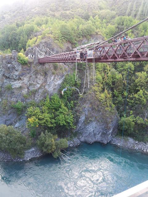 NZ Bungee Jump